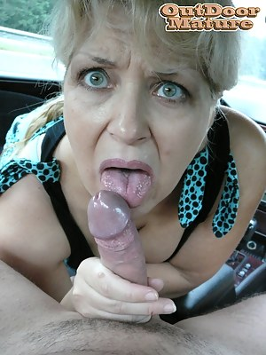Naked Mature Car Porn Pictures
