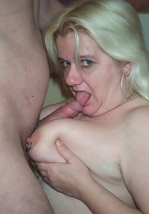Naked Mature Blowjob Porn Pictures