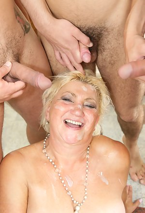 Naked Mature Gangbang Porn Pictures