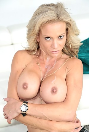 Naked Mature Fake Tits Porn Pictures
